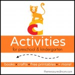 Letter C Activities the measured mom 150x150 How to teach the alphabet to preschoolers