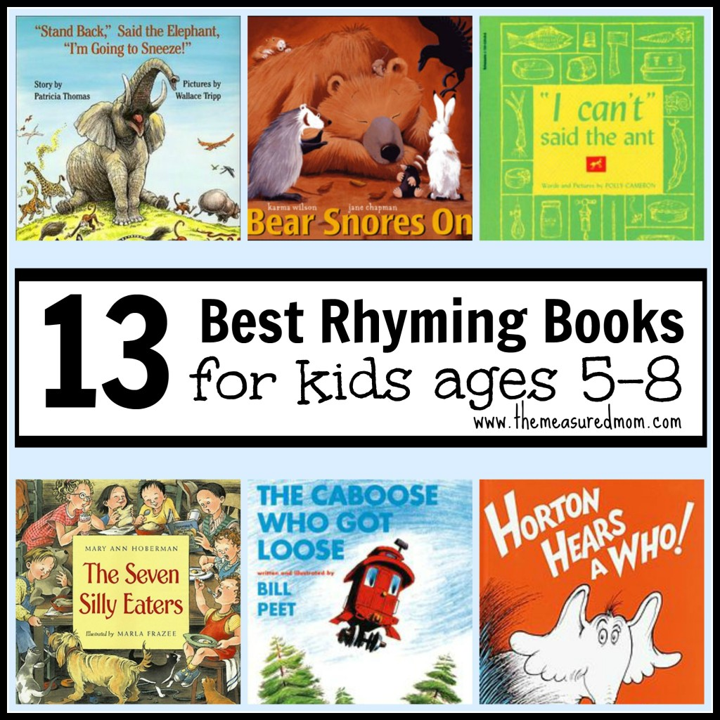 best rhyming books for kids ages 5 8 1024x1024 Best Rhyming Books for Kids Ages 5 8
