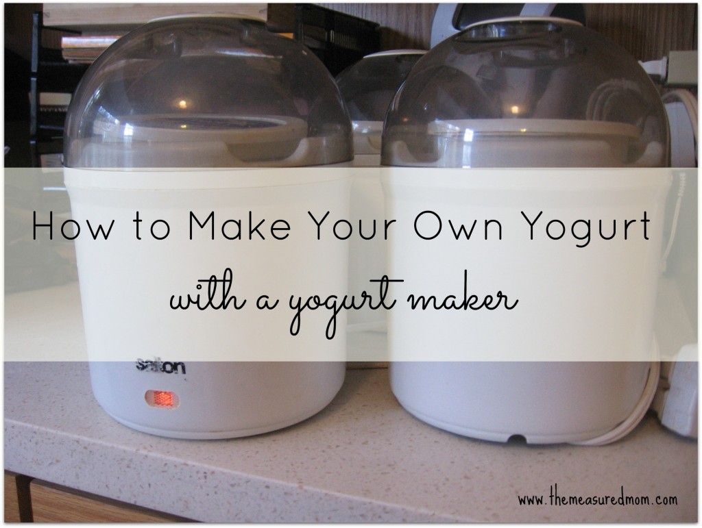 how to make your own yogurt 1024x771 How to Make Yogurt with a Yogurt Maker