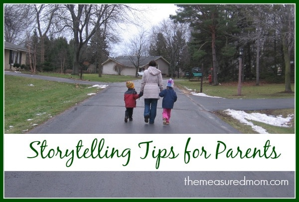 Are your kids begging for a story, but you're drawing a blank? Check out these simple storytelling tips!