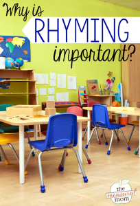 Why is rhyming important?