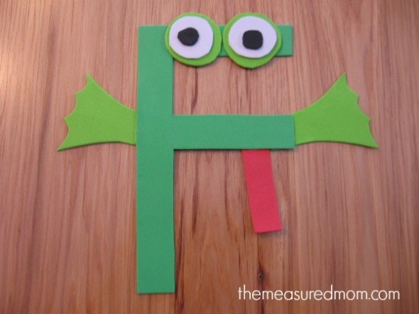 Letter F Craft 3 the measured mom 590x442 Letter F Crafts