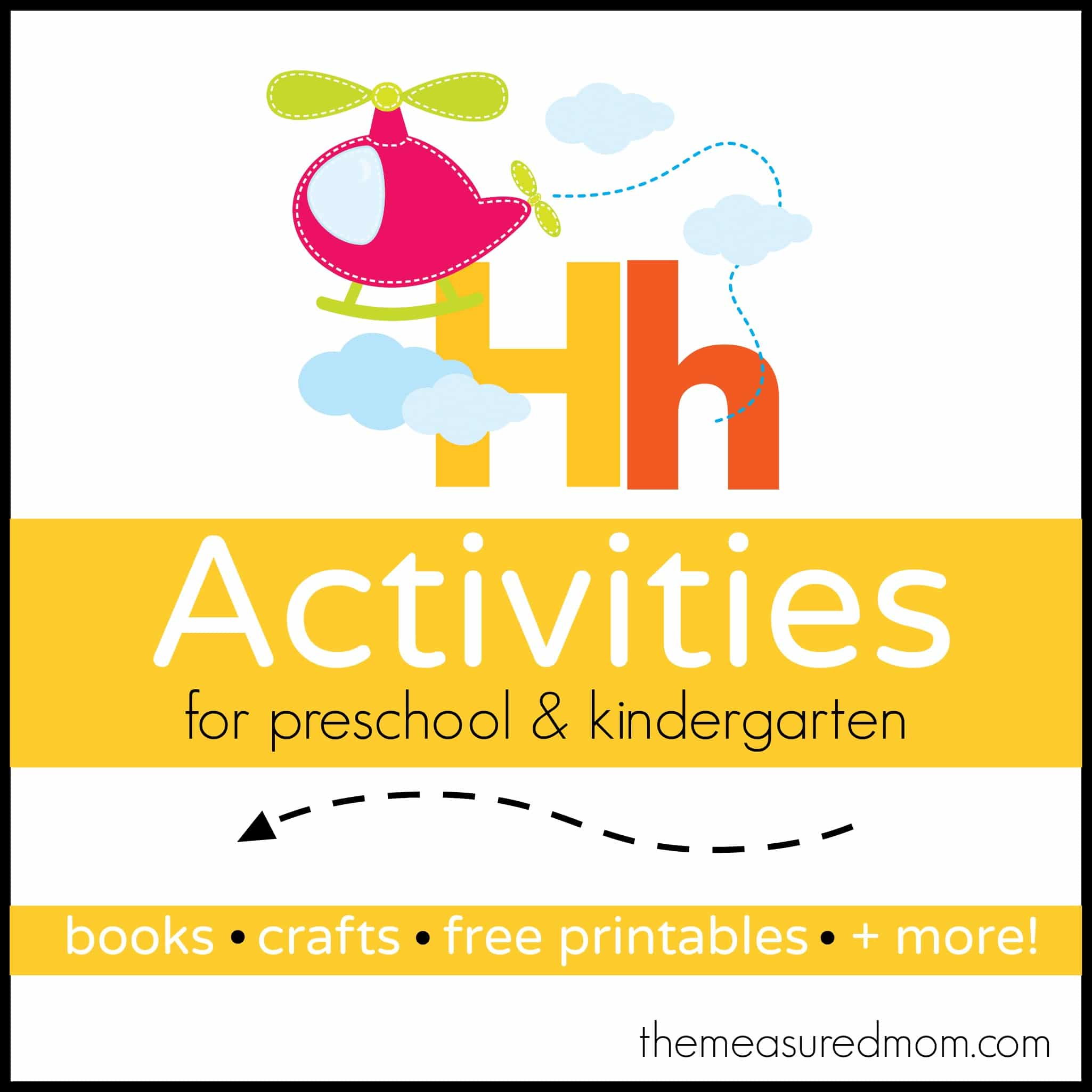letter h activities worksheets