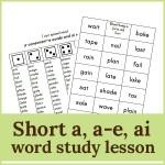 a consonant e ai lesson1 150x150 Free Printables