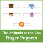 animals at the zoo finger puppets2 150x150 Free Printables