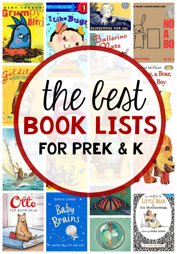 We've got the best book lists for early childhood! Our books are both parent and kid approved.