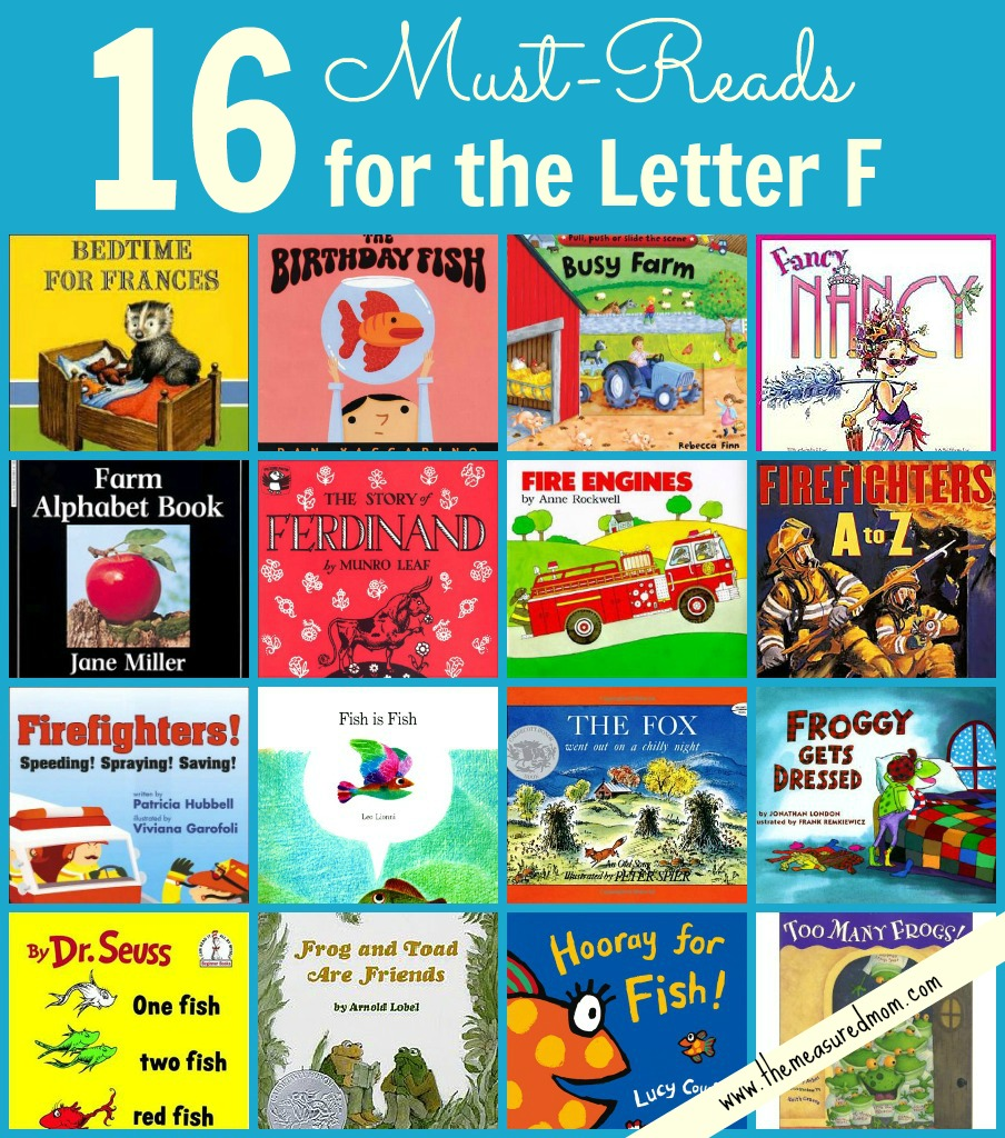 Books To Read For Letter F