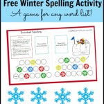 free winter spelling activity the measured mom 150x150 Free Printables