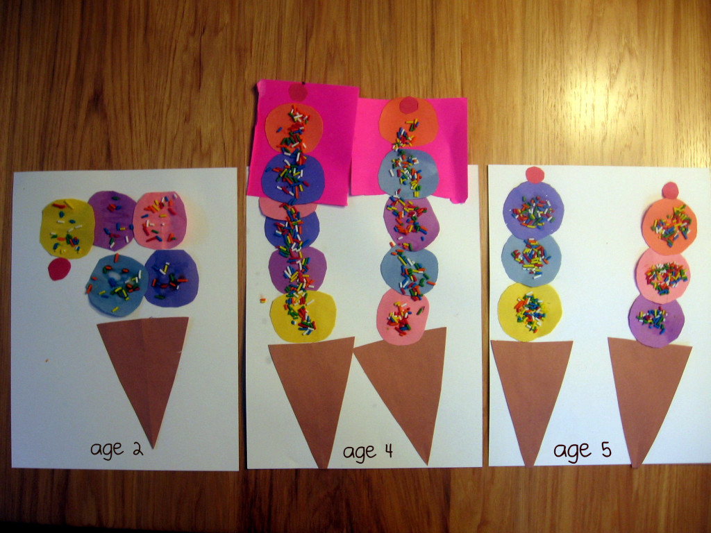 ice cream craft 1024x768 7 Fun Crafts for the Letter I