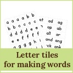 letter tiles for making words 2 150x150 Free Printables