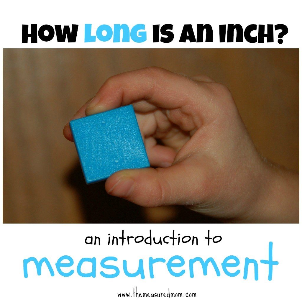 the measured mom how long is an inch 1024x1024 How long is an inch? (an introduction to linear measurement)