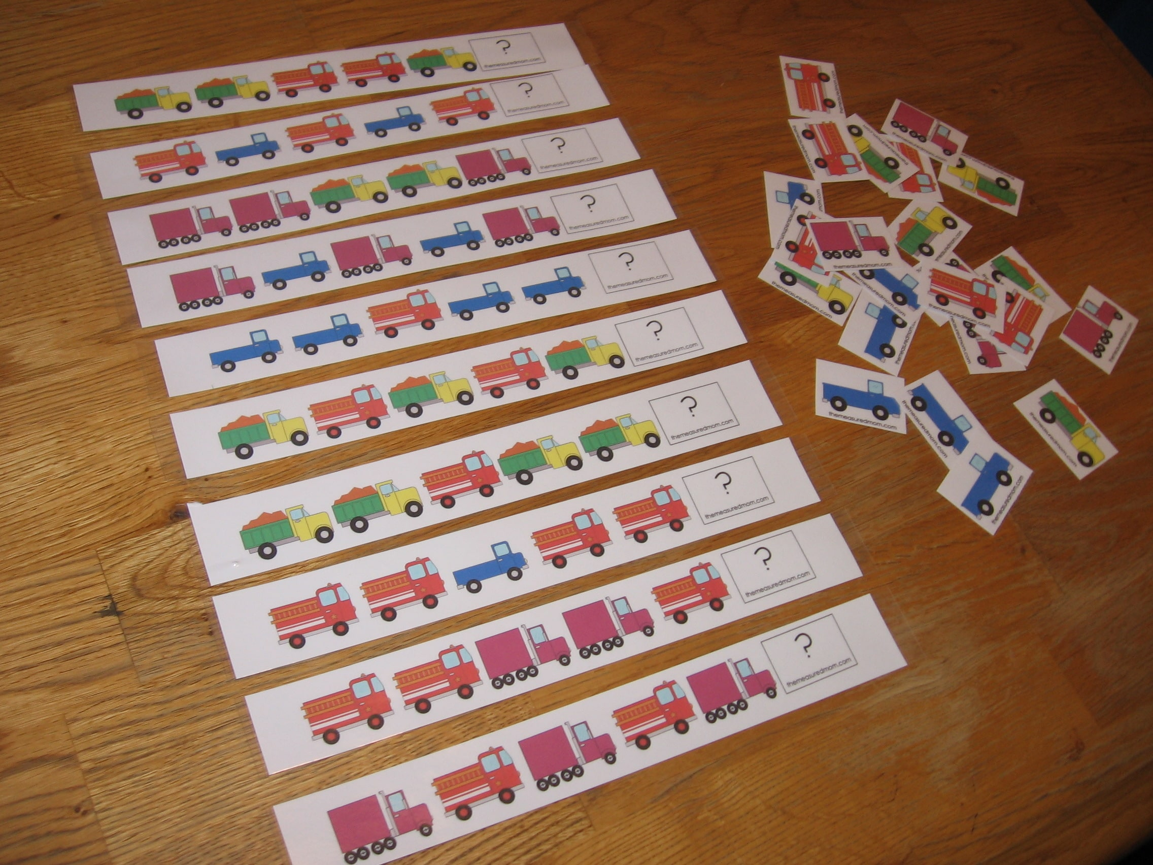 10 Preschool Math Activities (the Letter T) - The Measured Mom