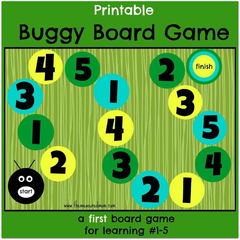 printable buggy board game the measured mom2 1024x1024 Buggy Board Game   a first board game for preschoolers