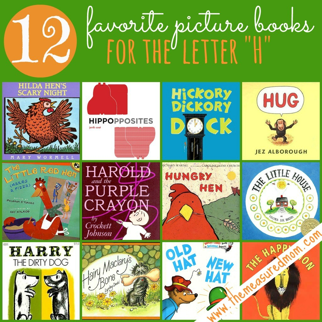 12 books to read for the letter h the measured mom