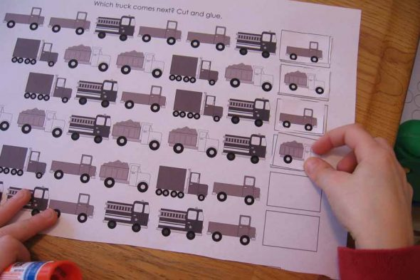Counting Number worksheets : repeating patterns worksheets tes ...