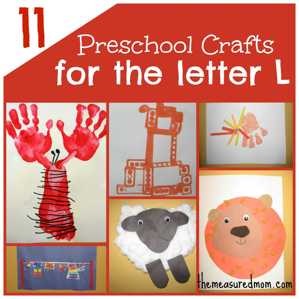 11 preschool crafts for letter L the measured mom 1024x1024 11 Crafts for Preschool: The Letter L