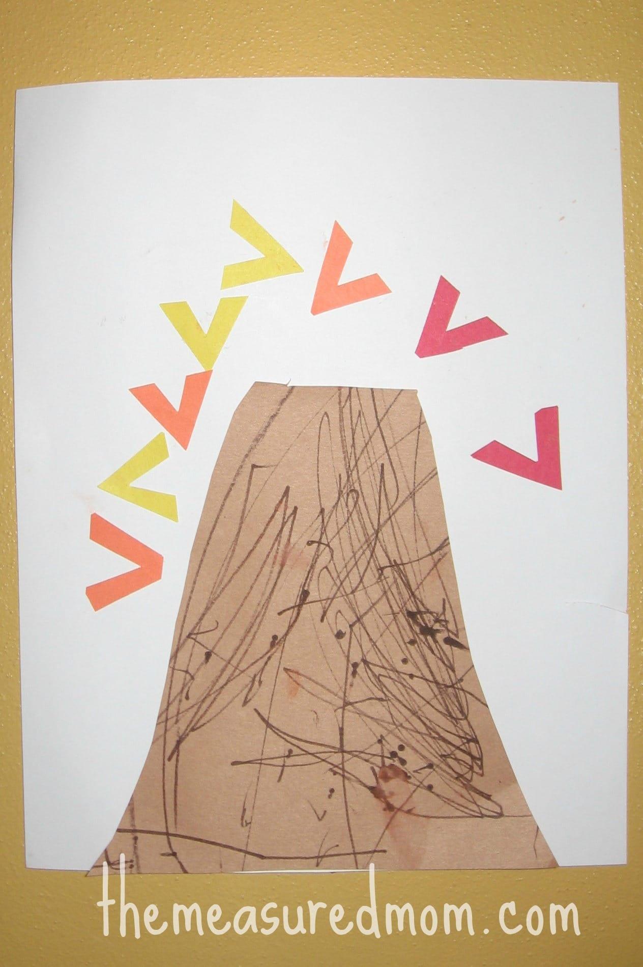 Letter V craft (2) - the measured mom