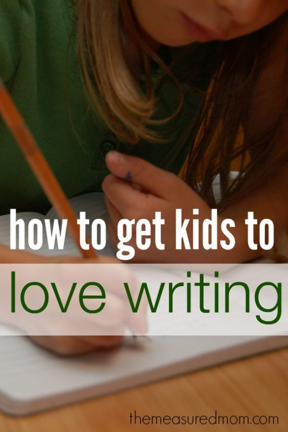 How to get your kids to love writing and other ways on how to teach writing {Weekend Links from HowToHomeschoolMyChild.com}