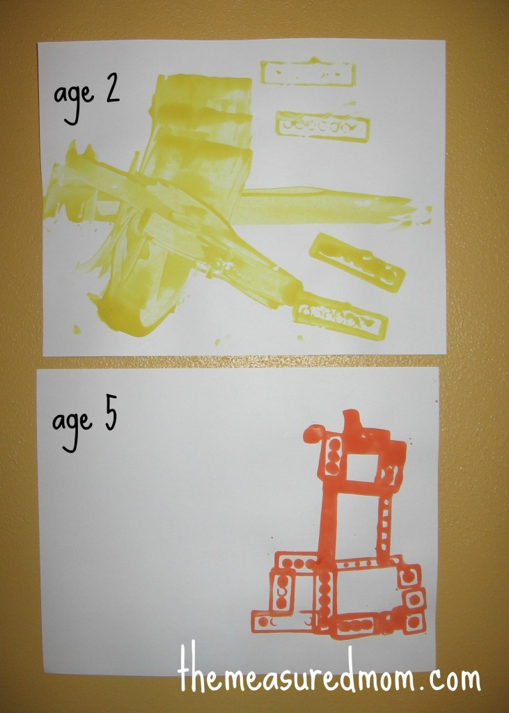 letter L craft legos 731x1024 11 Crafts for Preschool: The Letter L