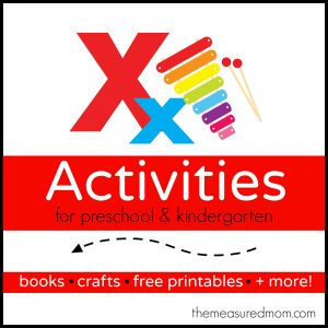 Letter X Activities the measured mom1 300x300 Easy Sensory Activity for Kids: Make an X Ray Light Box!