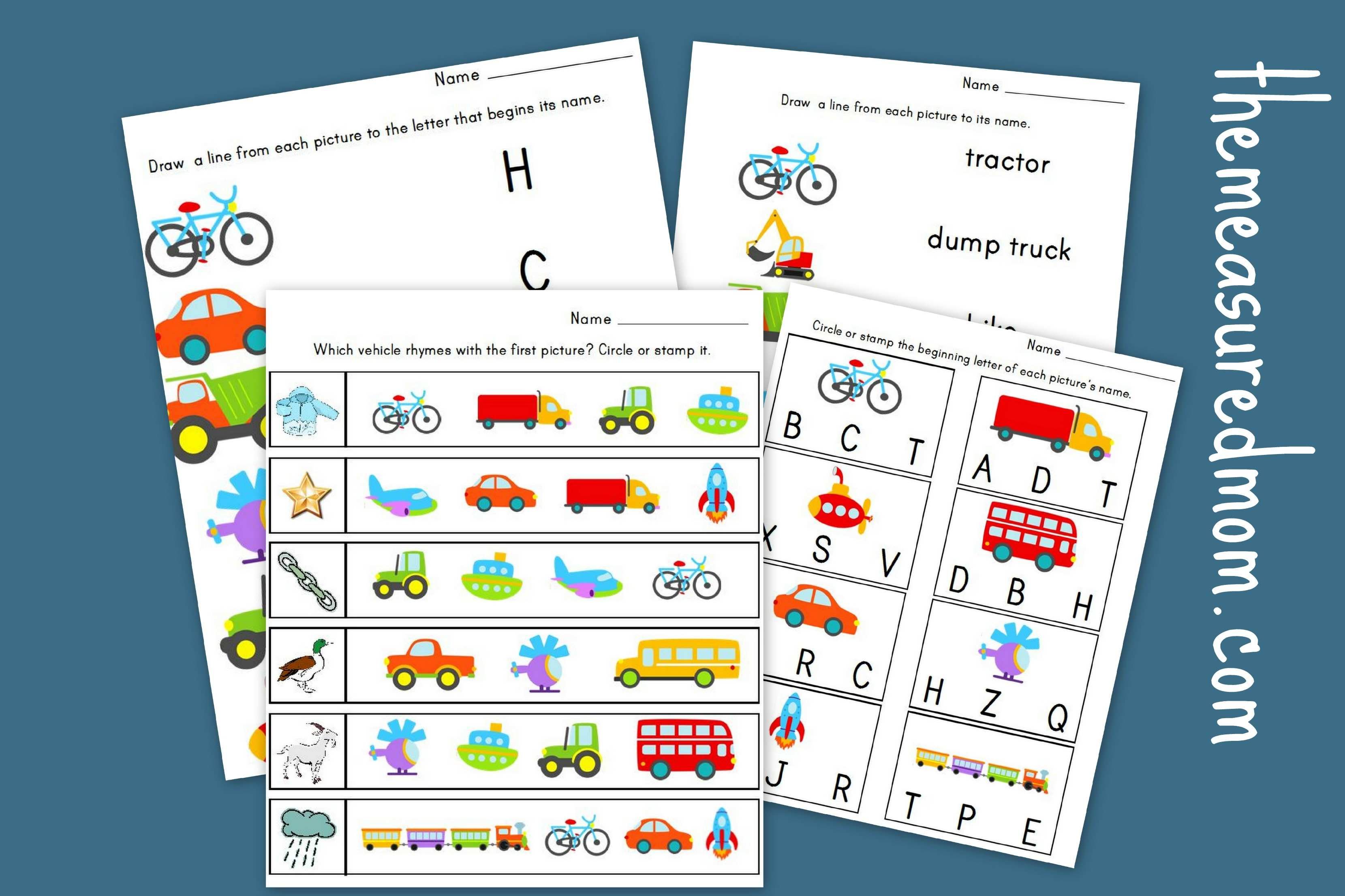 Preschool Alphabet Worksheets likewise 2nd Grade Science Worksheets ...