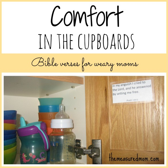 Bible Quotes For The Kitchen: Comfort In The Cupboards: Comforting Bible Verses For