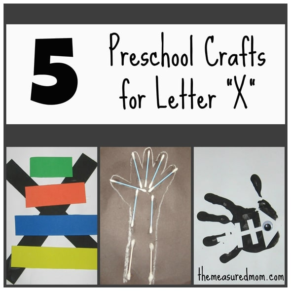 5 Letter X Crafts The Measured Mom
