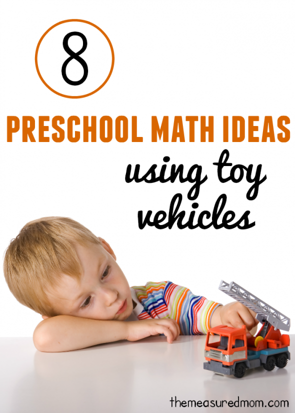 preschool math ideas using toy vehicles 590x826 8 Preschool Math Ideas    using toy vehicles!