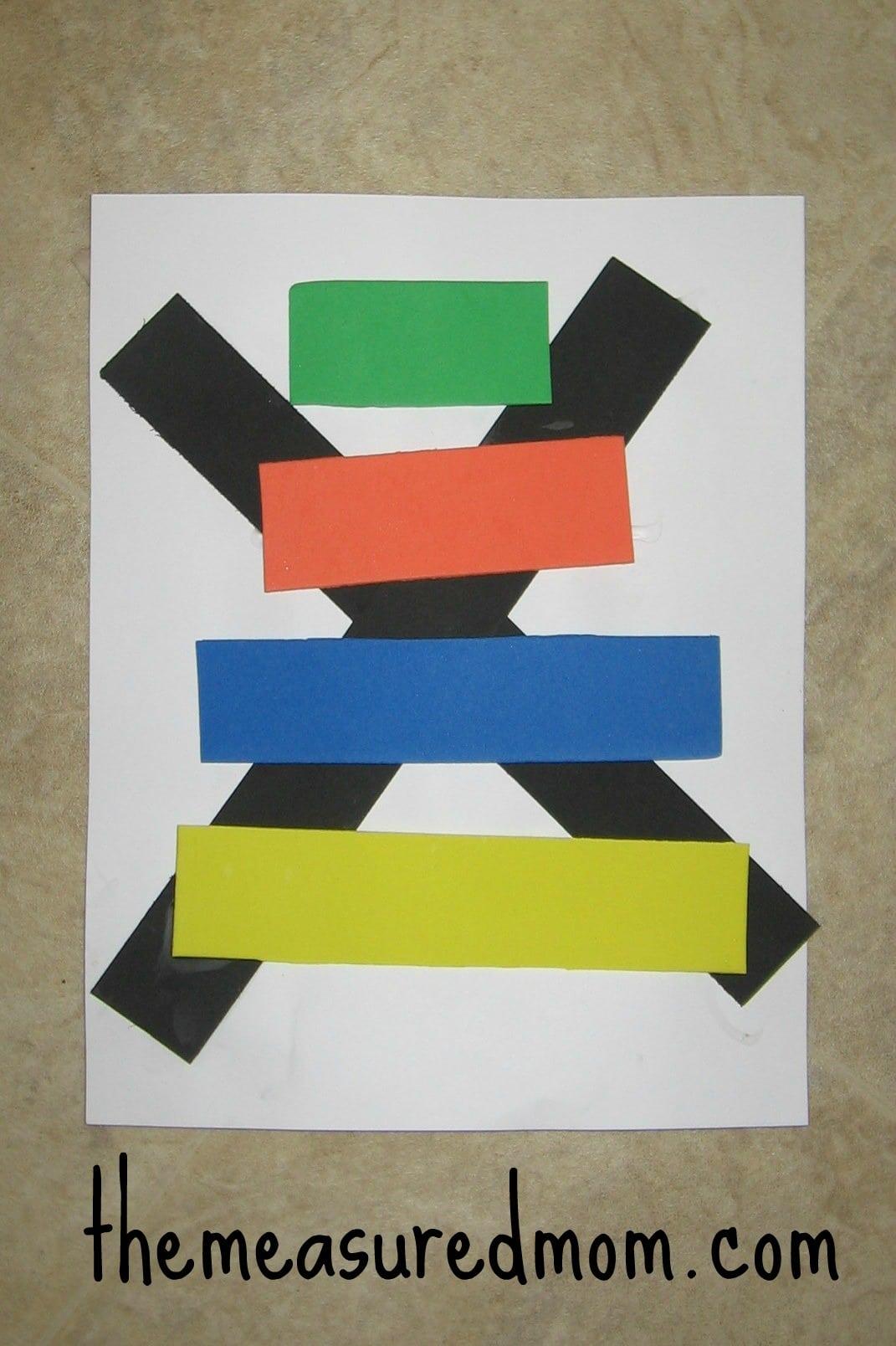 Letter X Crafts For Preschool x craft 3  Preschool