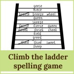 climb ladder spelling game 150x150 Free Printables