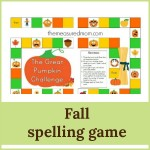 fall spelling game 2 150x150 Free Printables