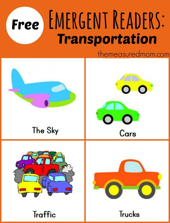 "(sight sight Free Transportation! word  word Emergent printable  free  Readers: ""see Printable story"