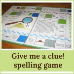 give me a clue spelling game 150x150 Free Printables