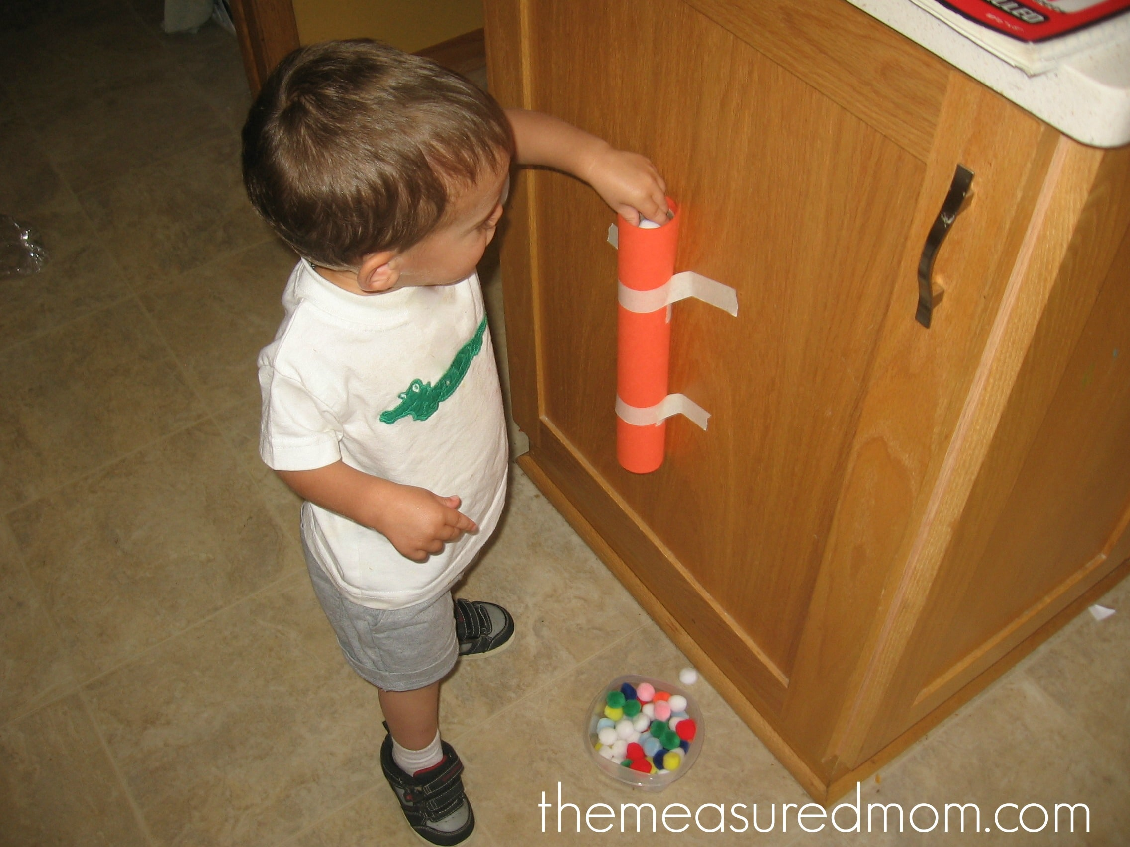 Toddler time 5 ways to keep a 1 year old busy the for Easy diy toys