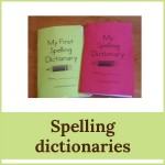 spelling dictionaries 150x150 Free Printables