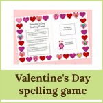 valentines day spelling game 150x150 Free Printables