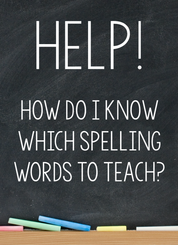 So you want to know what spelling words to teach? Learn how to figure it out, no matter what grade you teach.