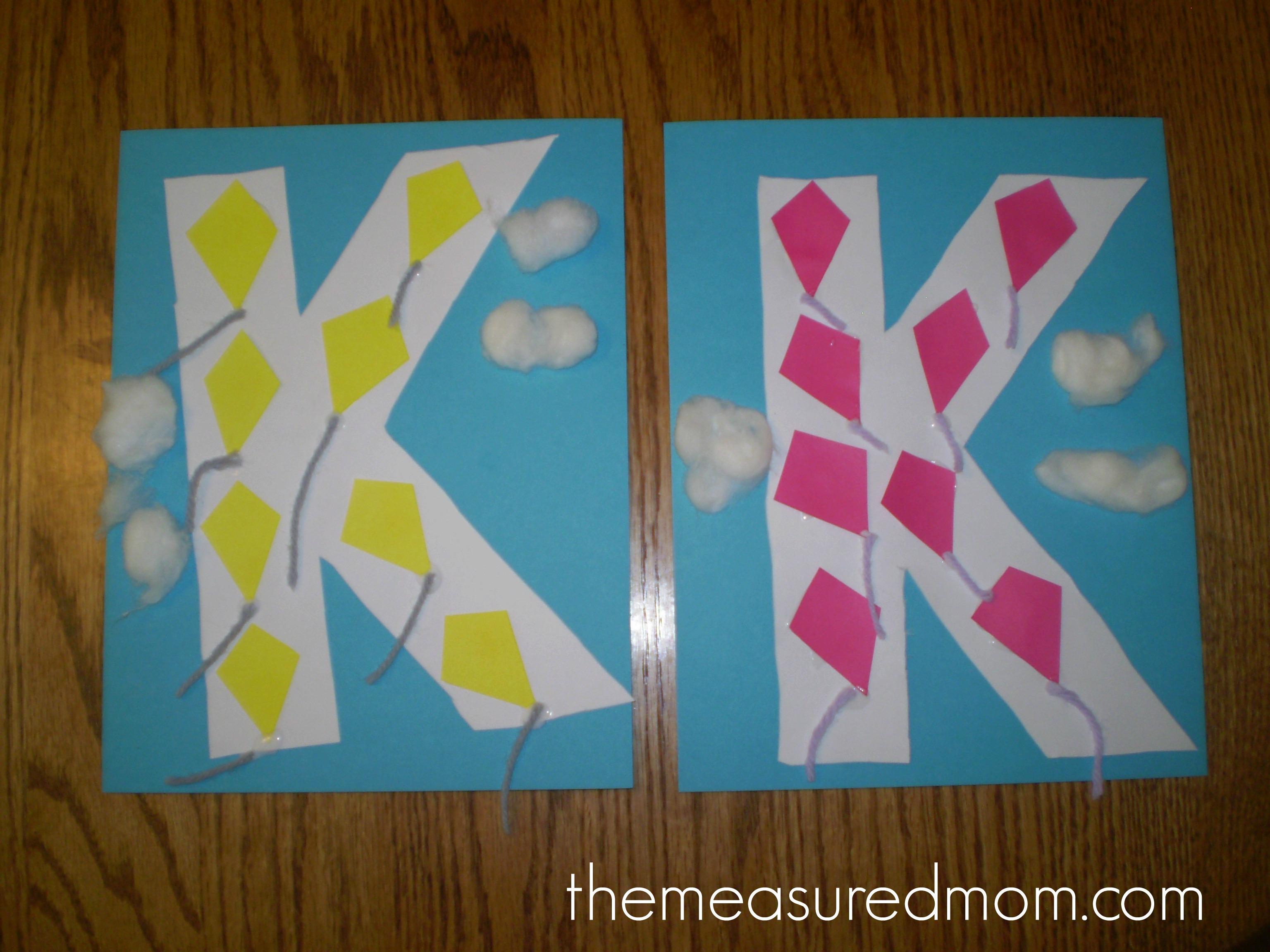 Crafts For Letter K The Measured Mom