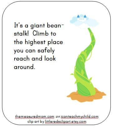 bean stalk - i can teach my child