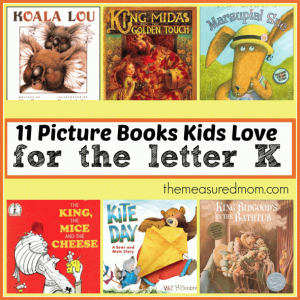 Letter of the Week Book List: Books to read for Letter K