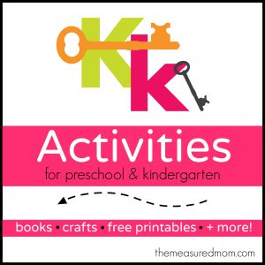 Letter K Activities - the measured mom