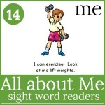all about me sight word readers 150x150 Free Printables