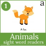 animals sight word readers 150x150 Free Printables