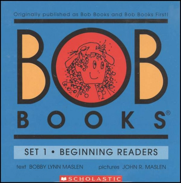 bob books 590x597 Decodable books for short a   where to find them!