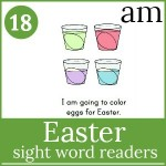 easter sight word readers 150x150 Free Printables
