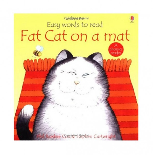 fat cat 590x599 Decodable books for short a   where to find them!