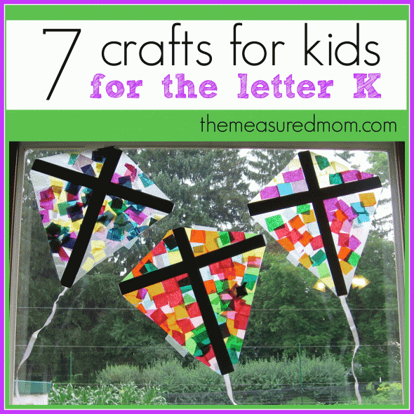 crafts for letter k   the measured mom