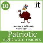 patriotic sight word readers 150x150 Free Printables