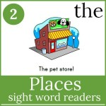places sight word readers 150x150 Free Printables