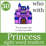 princess readers for page